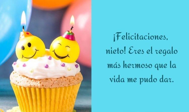 Tiernos Mensajes En El Feliz Día De Cumpleaños De Un Nieto Portal De Cumpleaños