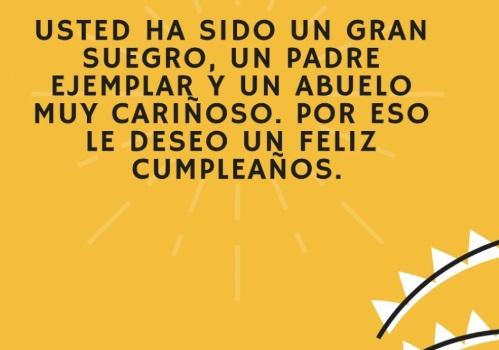 Mensajes De Feliz Día De Cumpleaños Del Suegro Portal De