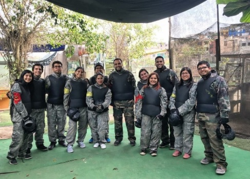 Feliz paintball