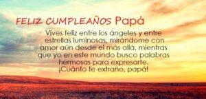 Querido padre