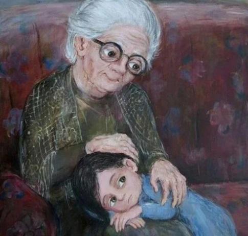 Linda abuela